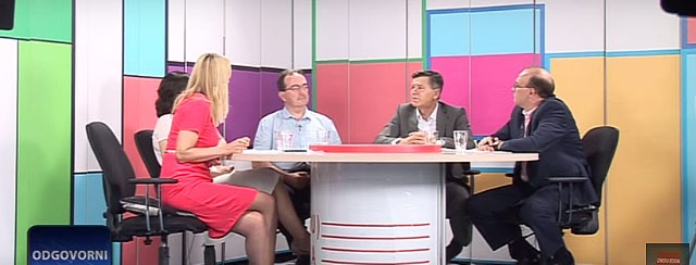 Проф. др Бобан Стојановић гост емисије Одговорни на RTV Belle Amie