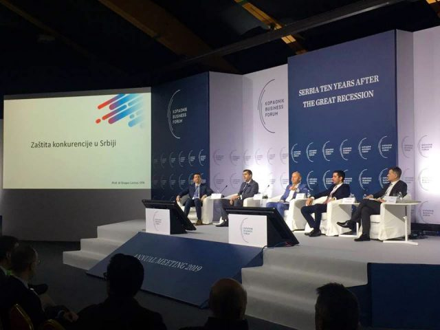 Професор др Бобан Стојановић председник ДЕН-а је учествовао на  Kопаоник бизнис форуму 2019